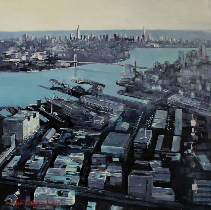 Adam Wajerczyk - New York from sky