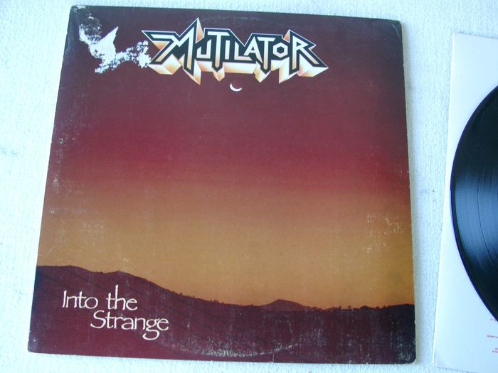 Mutilator - Into The Strange - LP Album - 1988/1988