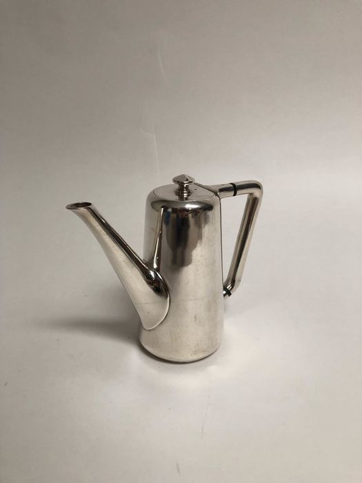 Wiskemann - Wiskemann - Tête à Tête Coffee pot - Art Deco - Silverplate