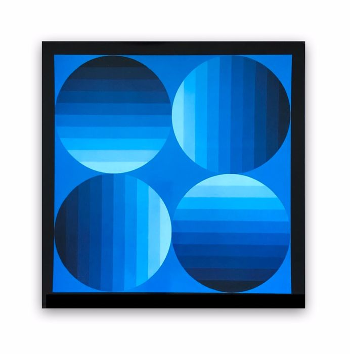 Victor Vasarely - Hold K - Editions Du Griffon