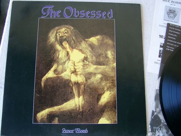 The Obsessed - Lunar Womb - Álbum LP - 1991/1991