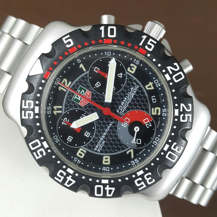 TAG Heuer - Formula 1 - Professional 200 Meters - CA1211-1 - Men - 2000-2010