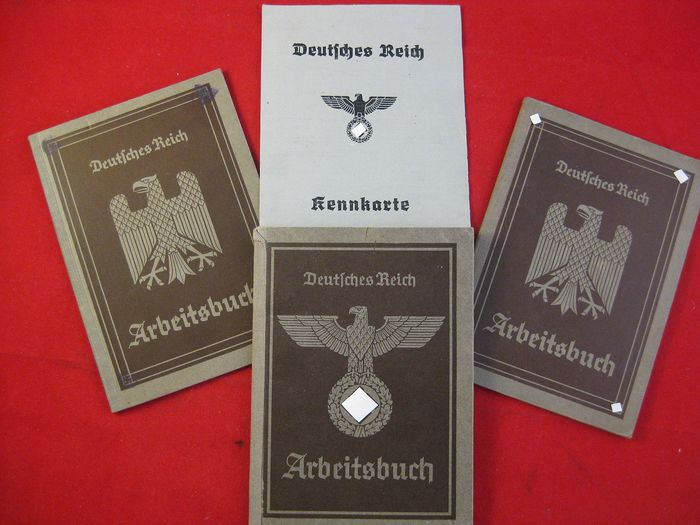 Germany - Party - workbook documents - 3.Reich Germany Documents 2nd World War Workbooks ID - 1940