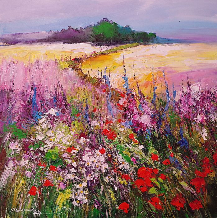 Małgorzata Stefaniak - Road Through the Meadow