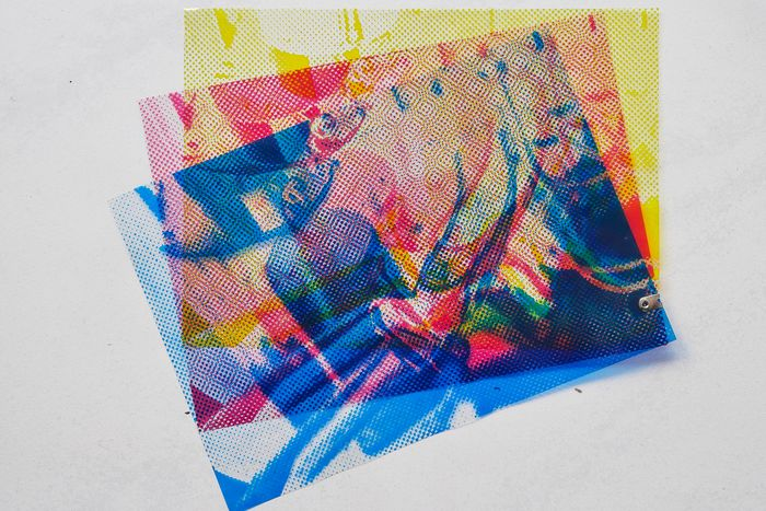 Alain Jacquet - Three Color Separations from S.M.S. 2