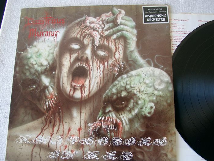 Disastrous Murmur - Rhapsodies In Red - LP Album - 1992/1992