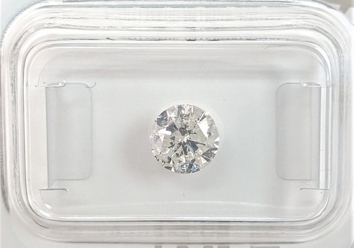Diamond - 0.90 ct - Brilliant - H - I1, No Reserve Price