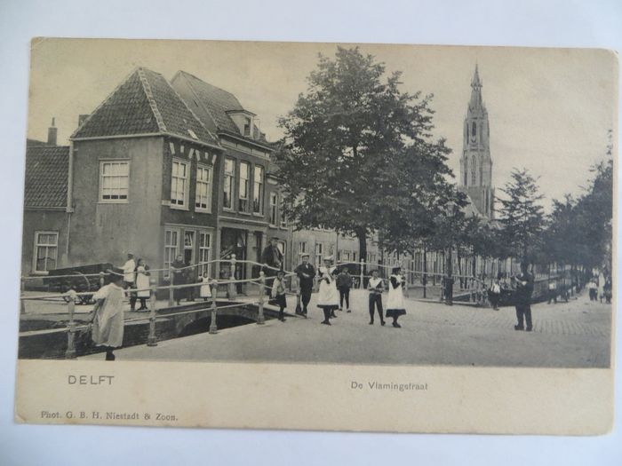 Netherlands - City and village views - Postcards (Collection) - 1899-1954