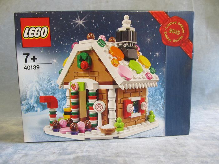 LEGO - Lego Exclusive - 40139 - Julespesial Gingerbread House, retired in 2015