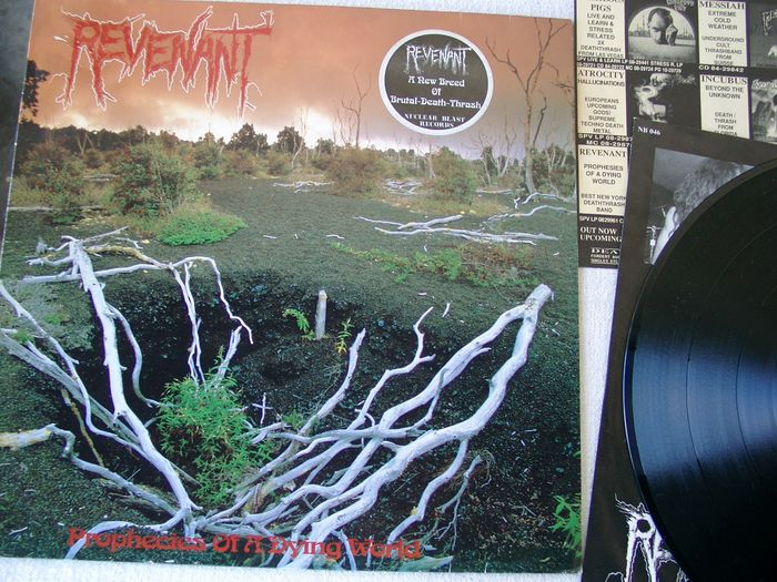 Revenant - Prophecies Of A Dying World - LP Album - 1991/1991