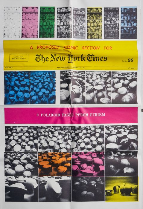 Bernard Pfriem - A PROPOSED COMIC SECTION FOR THE NEW YORK TIMES