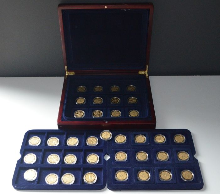 """The Netherlands - 37 coins """"400 years Michiel de Ruyter"""", 1607-2007"""