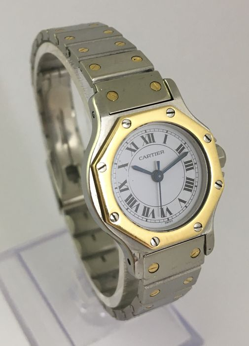 Cartier - Santos Octagon  - Women - 1980-1989