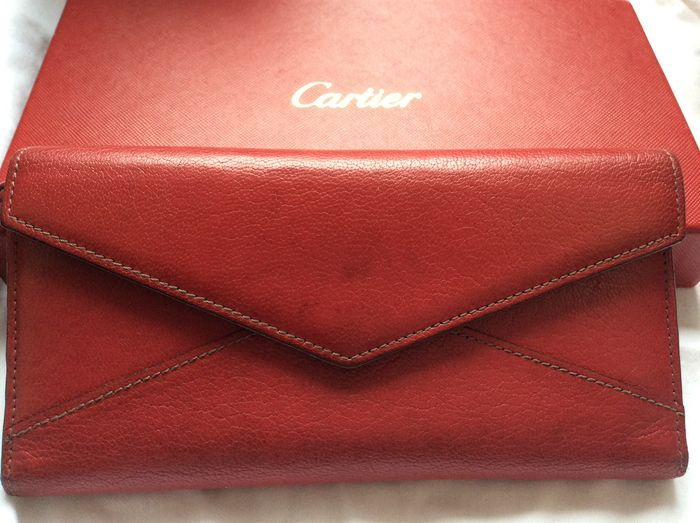 Cartier - Les Must Envelope Trifold Wallet