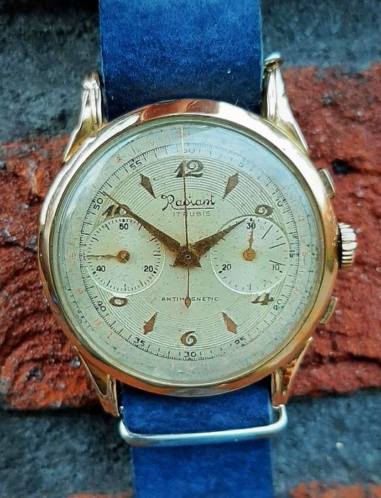 Radiant - Chronograph - Men - 1950-1959