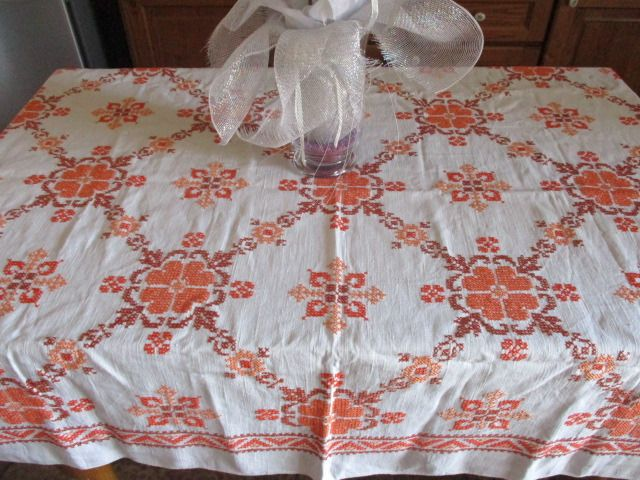 Tablecloth (1) - linen