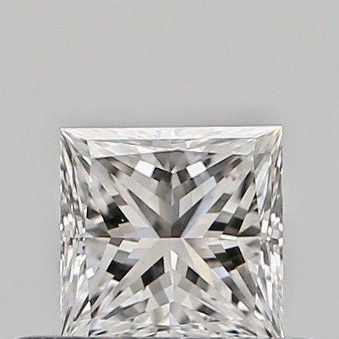 1 pcs Diamond - 0.35 ct - Princess - E - VVS1, ***no reserve***