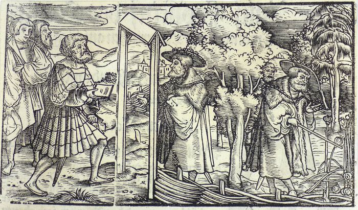Scanderbeg - Albania - Woodcut depicting scene from Scanderbeg's life - Only 2 recorded examples! - 1533