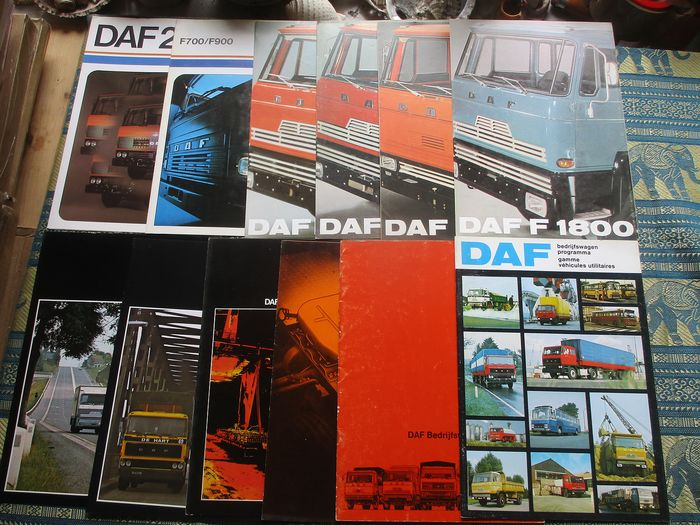 Brochures / Catalogi - DAF trucks - 1971-1977