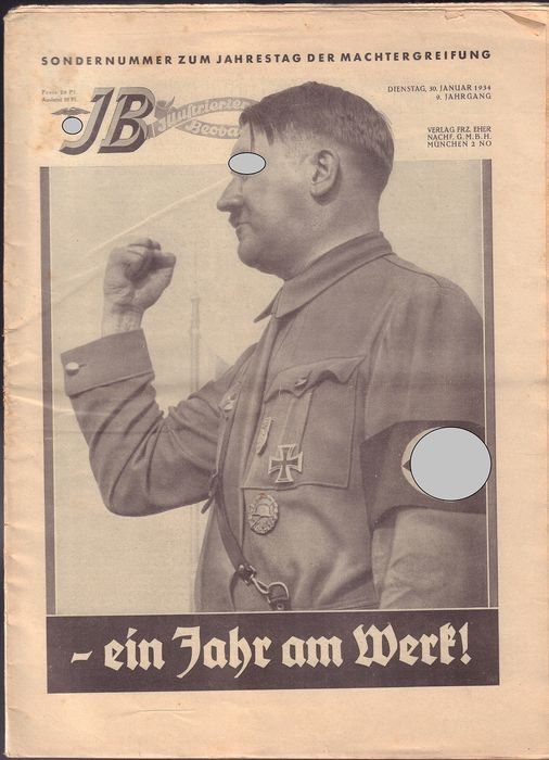 Germany - 14 x Illustrated Observer 1933 and 1934, also special issues - 1934
