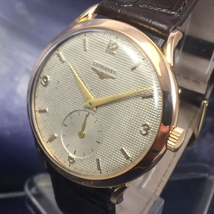 Longines - Vintage Cal. L12.68Z Solid Rose Gold 19 K 0,800 - Heren - 1901-1949