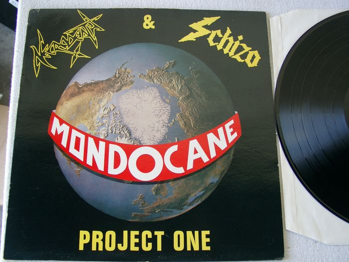 Mondocane - Necrodeath & Schizo ‎ - Project One - LP Album - 1989/1989