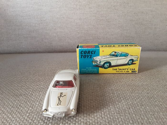 The Saints car Volvo P 1800 - 1:43 - no.258