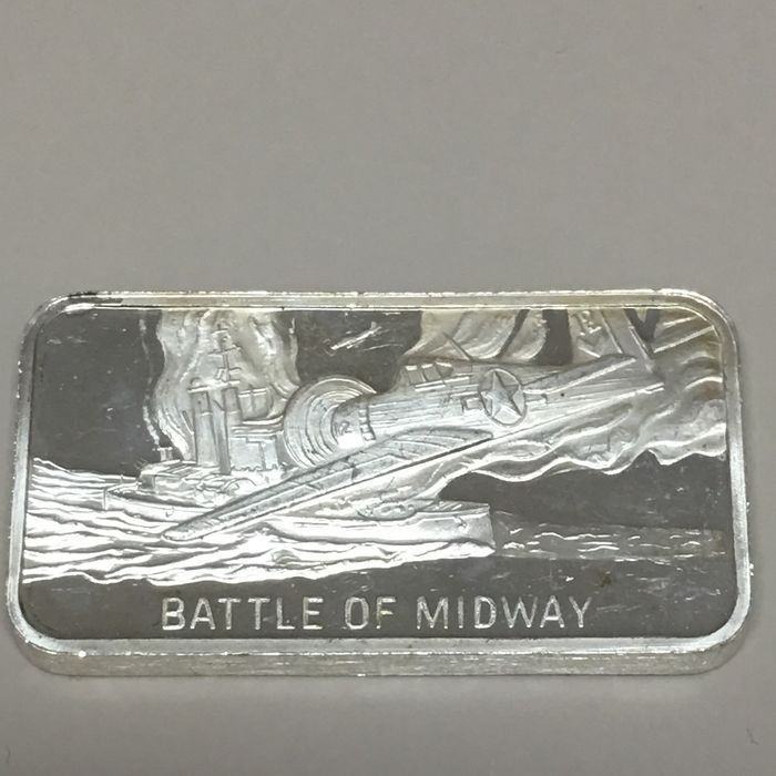 World - The History of World War II - Battle of Midway  - Silver
