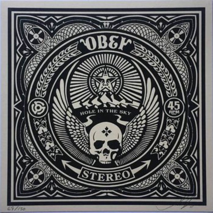 Shepard Fairey (OBEY) - Hole In The Sky