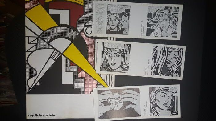 Roy Lichtenstein - Lot with 2 catalogues - 1967/1975
