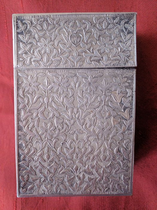 Cigarette case - .800 silver