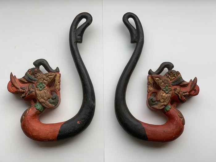 Klamboe hooks - Wood - East-Java, Indonesia