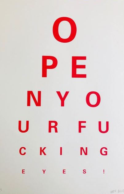 Alex Bucklee - Eye Test (Red)