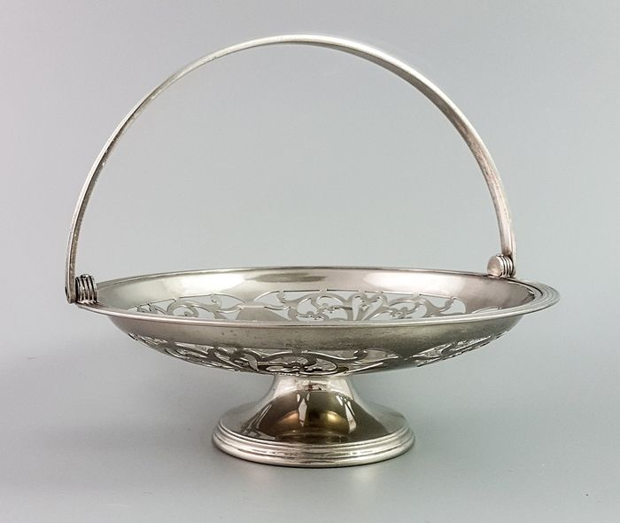 Sheffield - Basket, Bowl, Centrepiece (1) - Art Deco - Silverplate