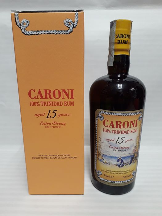 Caroni 1998 15 years old Velier - Extra Strong - 70cl