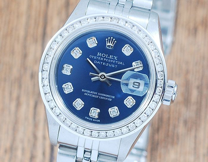 Rolex - Oyster Perpetual DateJust  - 79174 - Dames - 2000-2010