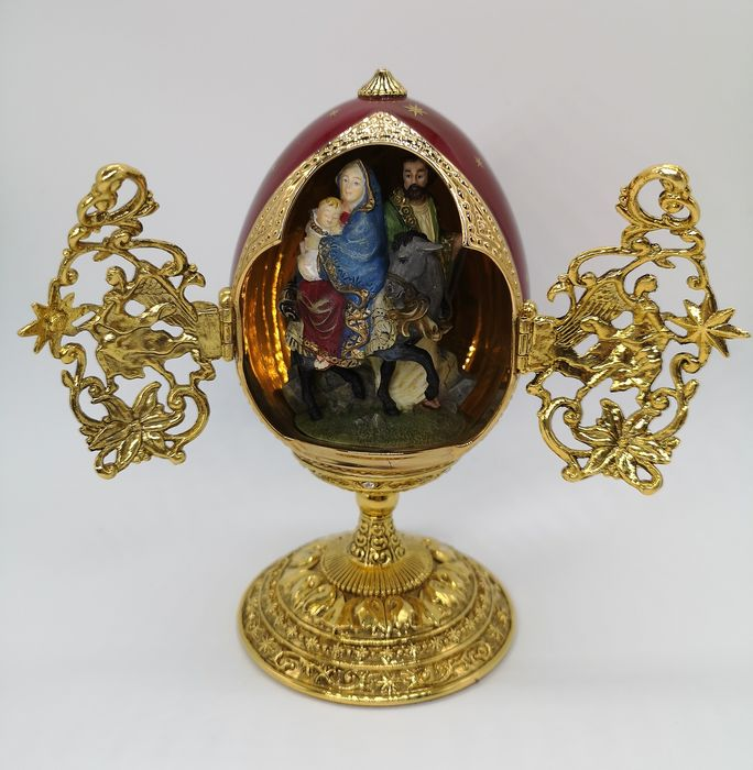 House of Fabergé The Flight into Egypt Collector Egg - see existing