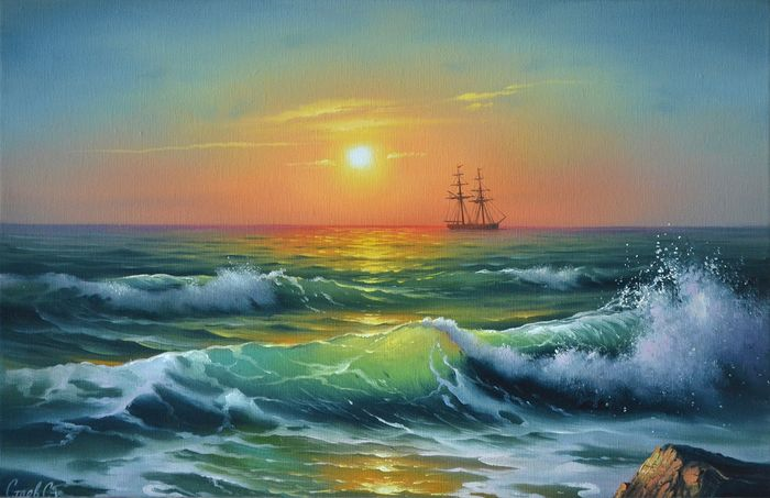 Sergei Stoev - Waves of the Sea of ​​Azov