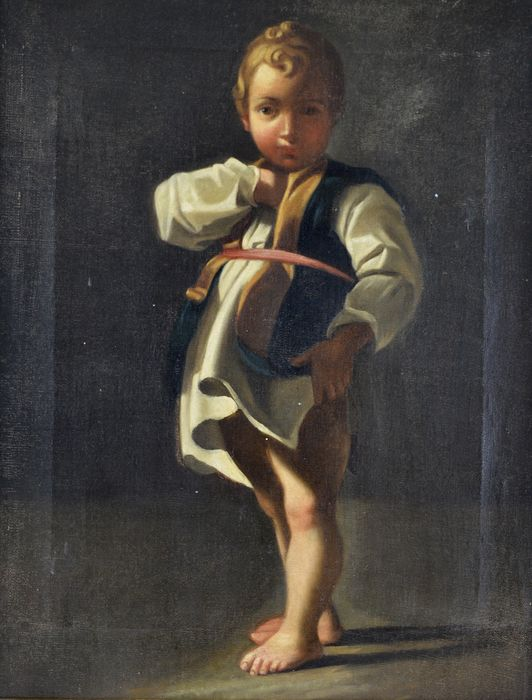 After Bartolommeo Schedoni. (1578-1615) - A portrait of a young boy