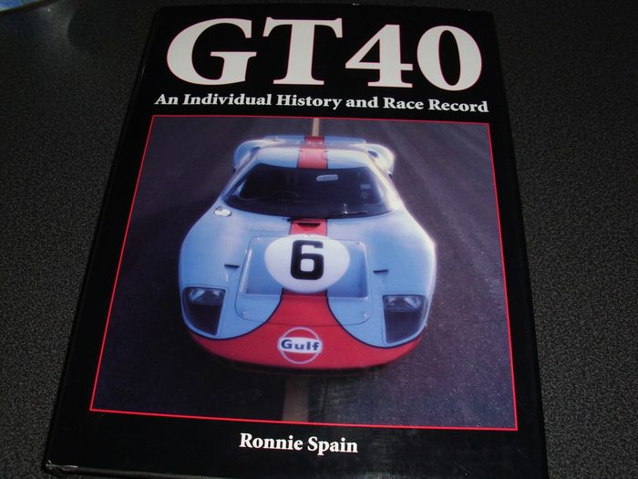 Books - Ford - GT40 - The Individual History and Race Record - 2003-2003