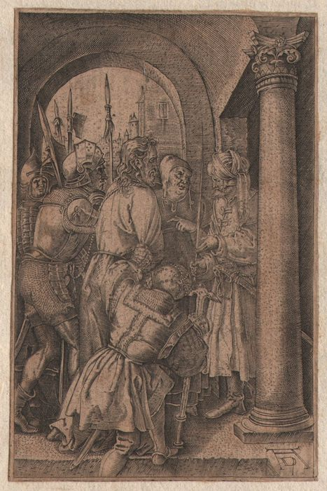 Albrecht Dürer ( 1471-1528 ) - Christ before Pilate