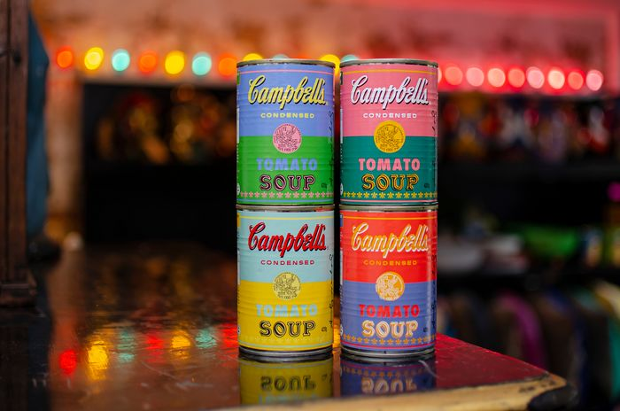 Andy Warhol - 50th anniversary Campbells Tomato Soup Cans (AUS edition)
