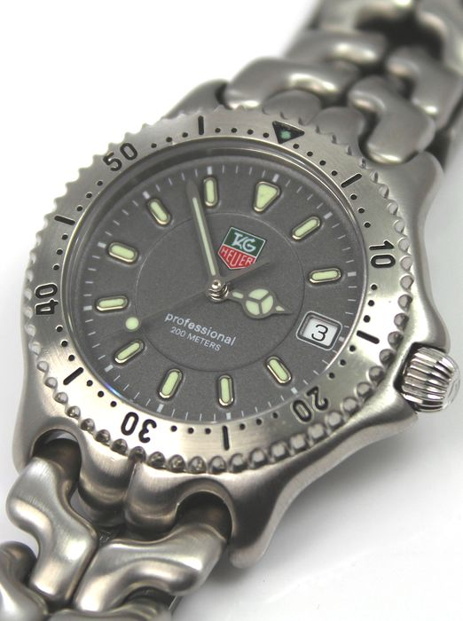 TAG Heuer - 'NO RESERVE PRICE'  Professional 2000  - WG1213-KO Excellent Condition - Men - 2000-2010