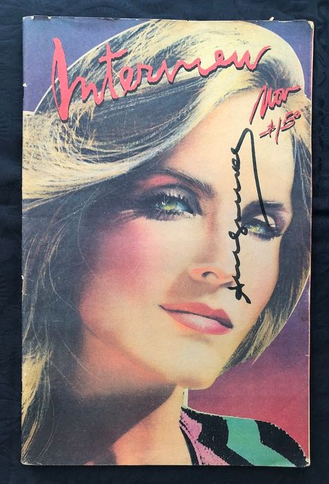 Signed; Andy Warhol - Interview November 1979