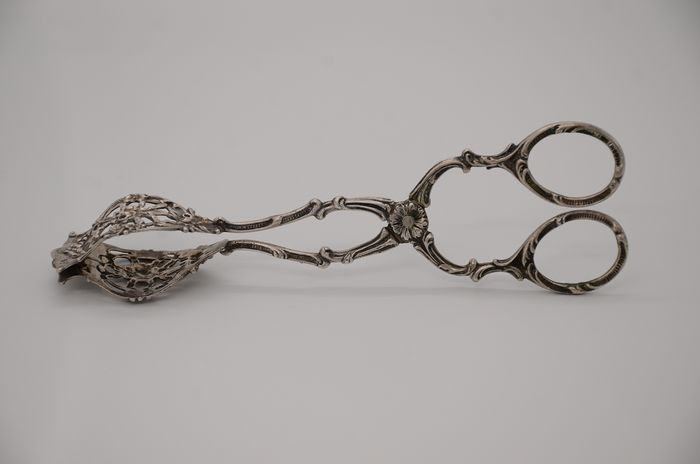 Cake tongs - .800 silver - Germany - Early 20th century