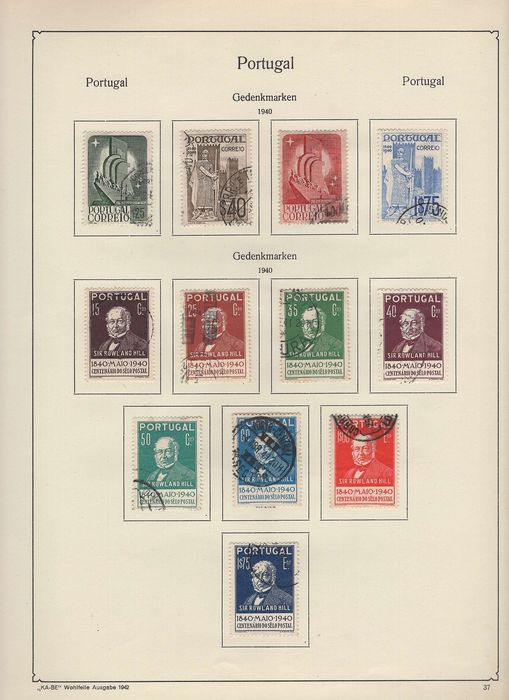 "Portugal 1853/1970 - Collection with ""Henry the Navigator"" set"