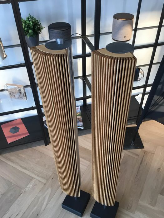 B&O - Beolab 8000 speakers with real oak covers (Beolab 18 look!) - Speaker set