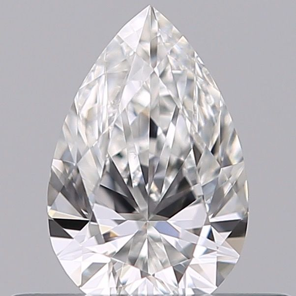 1 pcs Diamond - 0.30 ct - Pear - E - IF (flawless), ***no reserve***