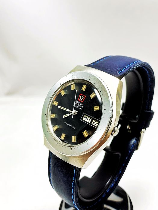 """Omega - Electronic F 300 Diver Chronometer - """"NO RESERVE PRICE"""" - 198.029 - Heren - 1970-1979"""