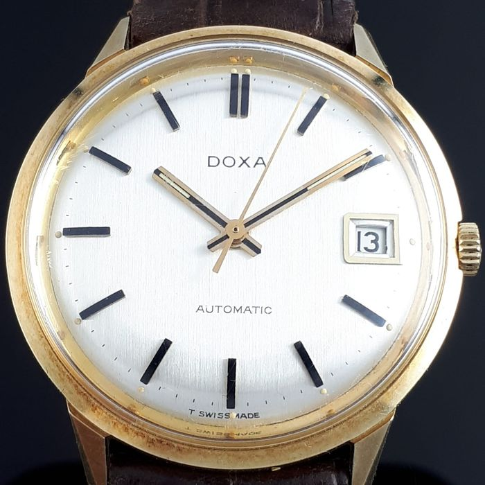 Doxa - Vintage Automatic 14k Yellow Gold  - Cal. 118  - Hombre - 1960-1969